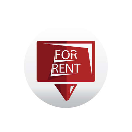 rent: for rent signboard