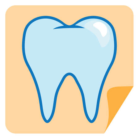 cleanliness: healthy tooth Illustration