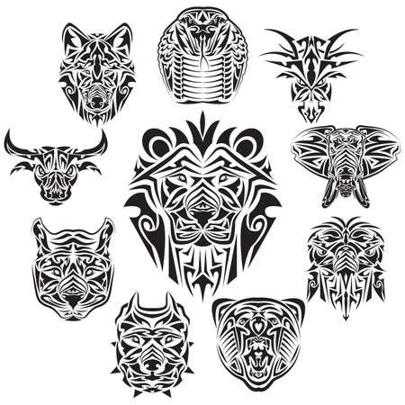 dieren tatoeages