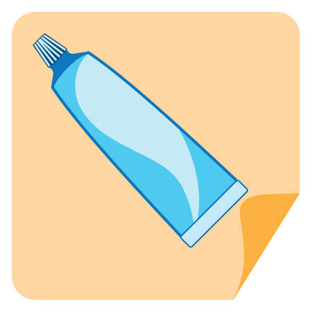 pasta dental: pasta de dientes Vectores