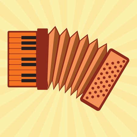 acordeón: acorde�n de teclado