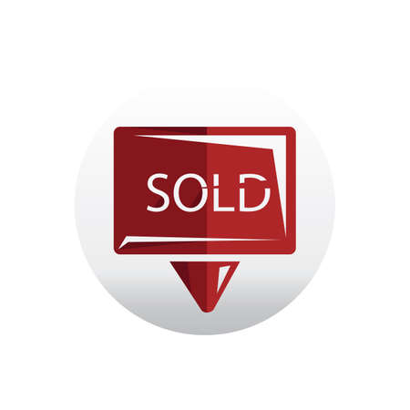 sold: sold signboard