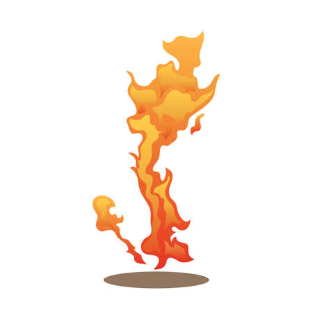 ember: flame Illustration