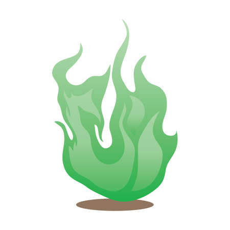 ember: green flame