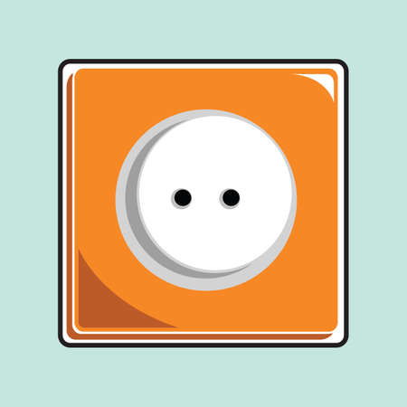sockets: wall socket Illustration
