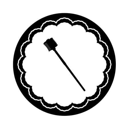 lash: eyelash comb