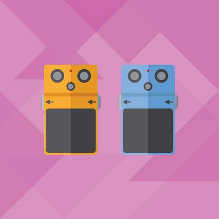 pedals: guitar pedal