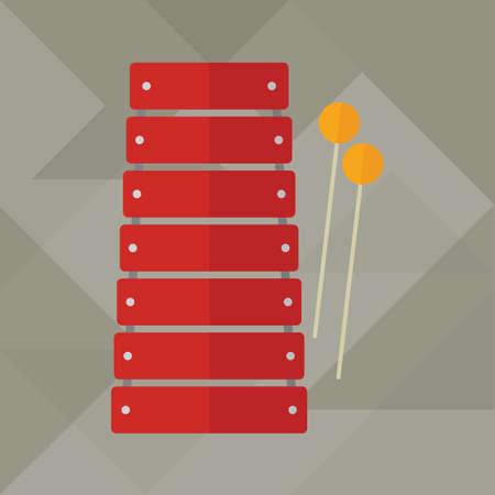 xilofono: xil?fono Vectores