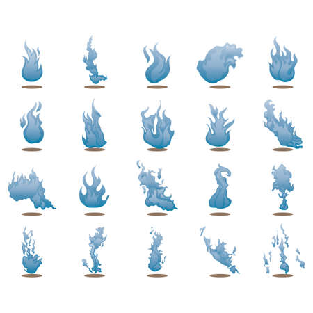 blue flame: blue flame collection