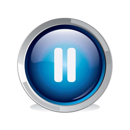 pause button Vectores