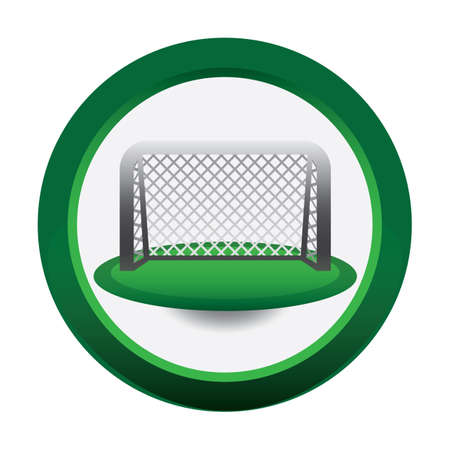 net: goal net Illustration