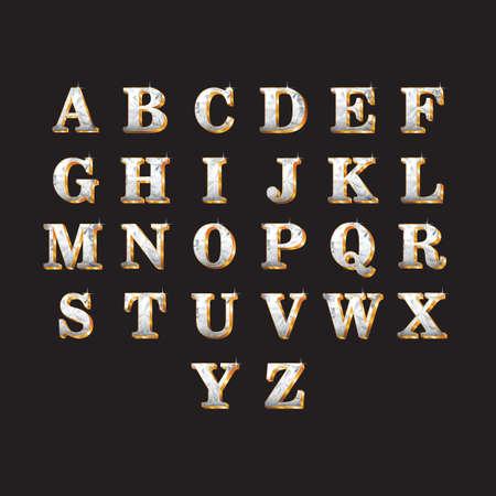d a r e: set of alphabets
