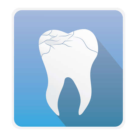 cavities: cracked tooth