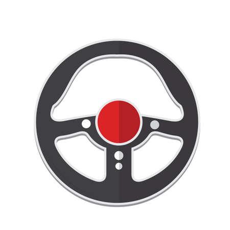 steering wheel Ilustracja
