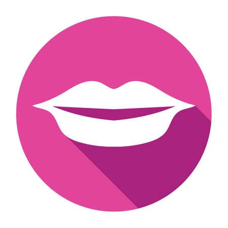 herpes: lips Illustration