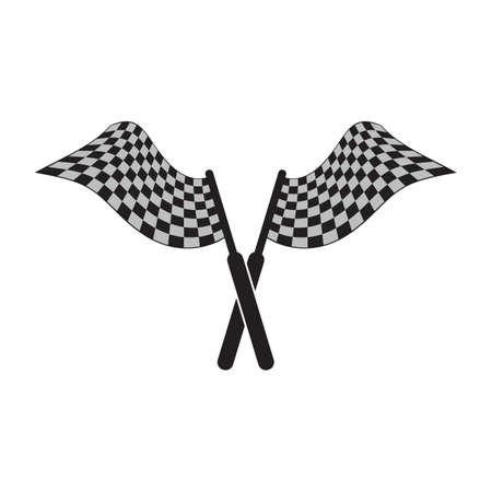 checker flag: race flag