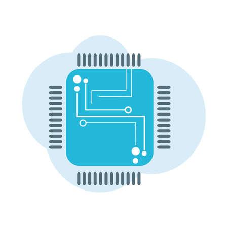 microprocessor: microprocessor Illustration