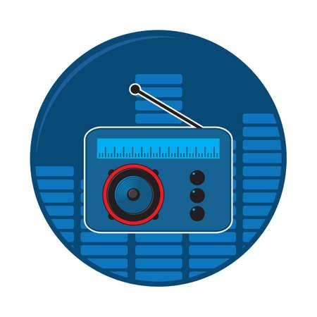 transistor: radio de transistores Vectores