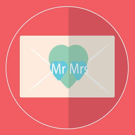 wedding: wedding invitation Illustration