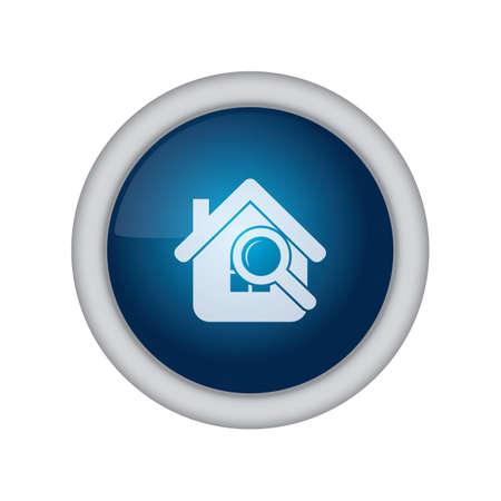 home button: home button with search option Illustration
