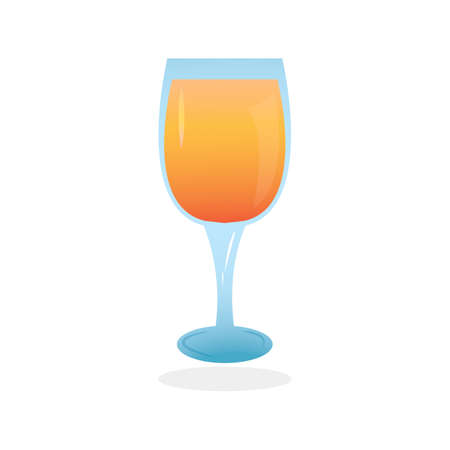 refreshment: juice in glass