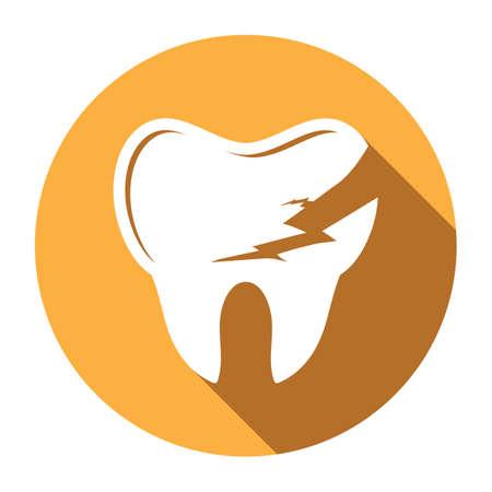 damaged: damaged teeth