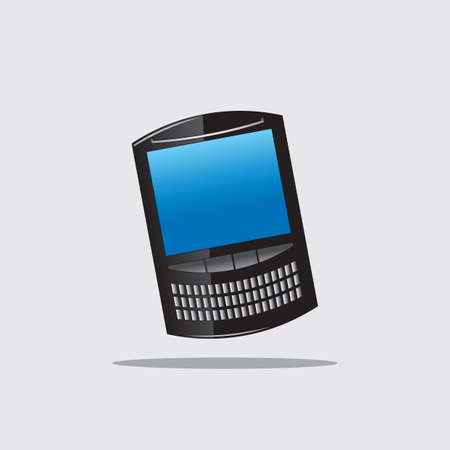 qwerty: qwerty smart phone Illustration