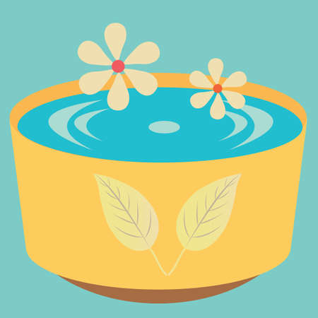 bowl: bowl of water