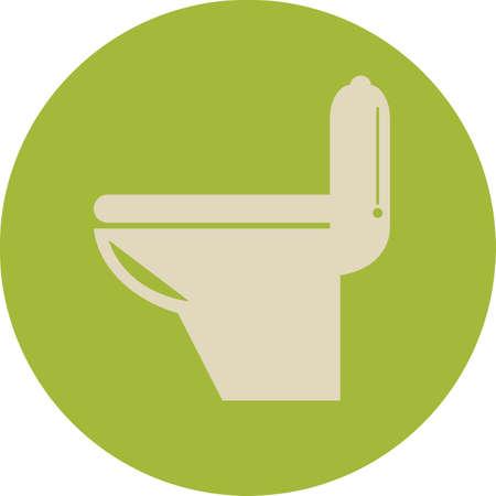 toilet bowl: toilet bowl Illustration