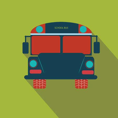 four wheeler: school bus