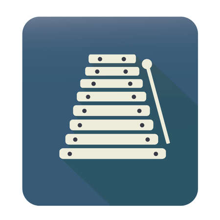 xylophone: xylophone and stick