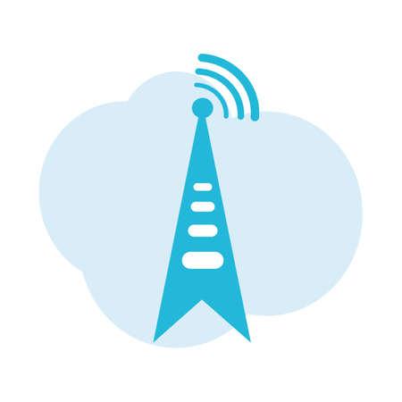 signal: signal tower