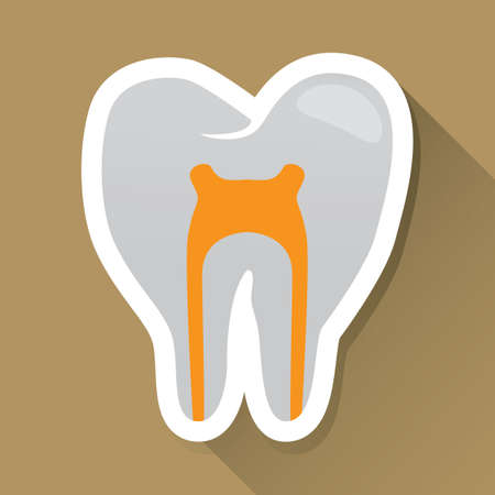 nervios: diente con etiqueta de nervios