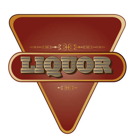 booze: liquor label