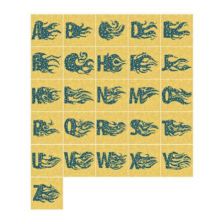 u k: alphabets