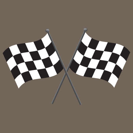 session: race flags Illustration