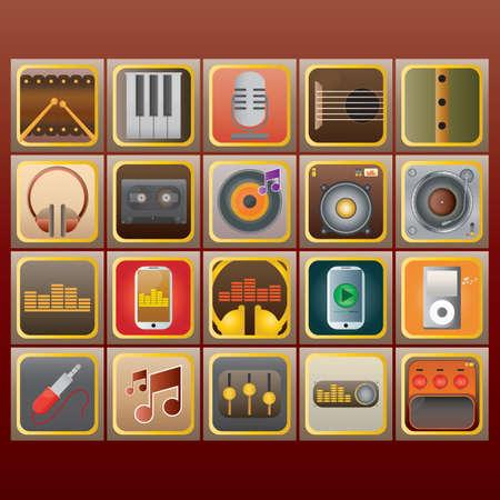 audio equipment: collection of audio equipment