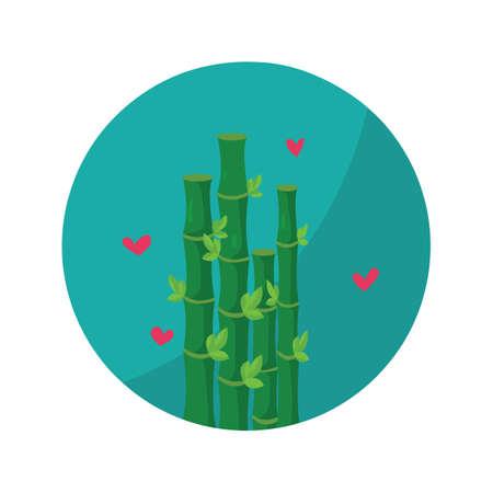 bamboo stick: spa bamboo Illustration