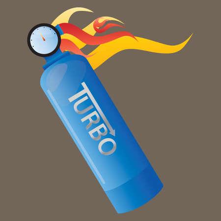 turbo: nitrous oxide gas