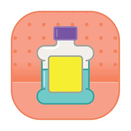 mouthwash 向量圖像