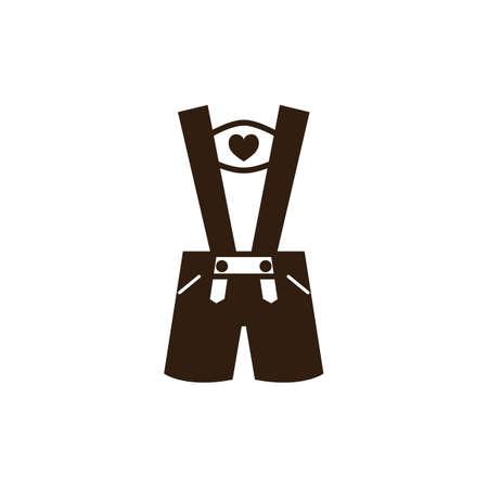 bavarian: bavarian costume Illustration
