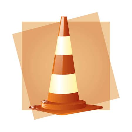 traffic cone: traffic cone