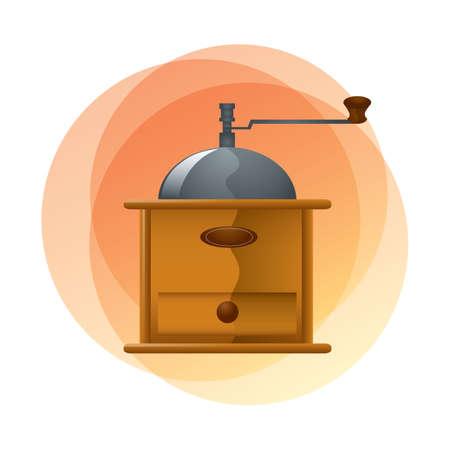 preparations: coffee bean grinder