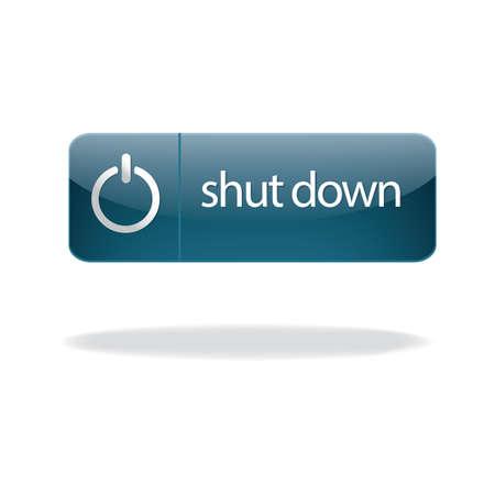 shutdown: shutdown button