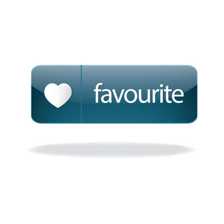 favorite: favorite button Illustration
