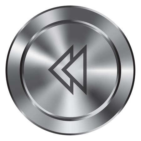 rewind button Stock Vector - 53284306