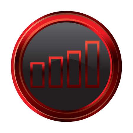 increase: volume increase button Illustration