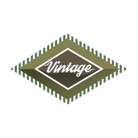 lable: vintage lable