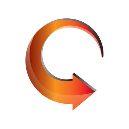 rotate: arrow rotate anticlockwise Illustration