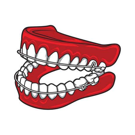 chew: teeth set